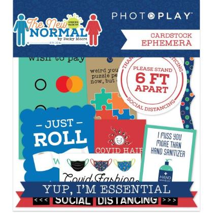 Photoplay The New Normal Ephemera Cardstock Die
