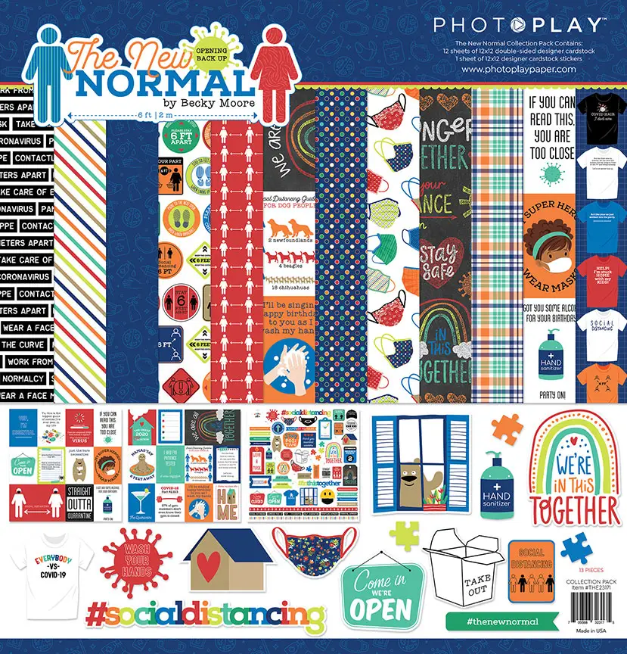 PhotoPlay The New Normal Collection Pack 12X12