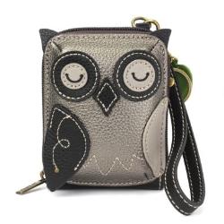 Chala Owl Credit Card Holder Wallet Wristlet