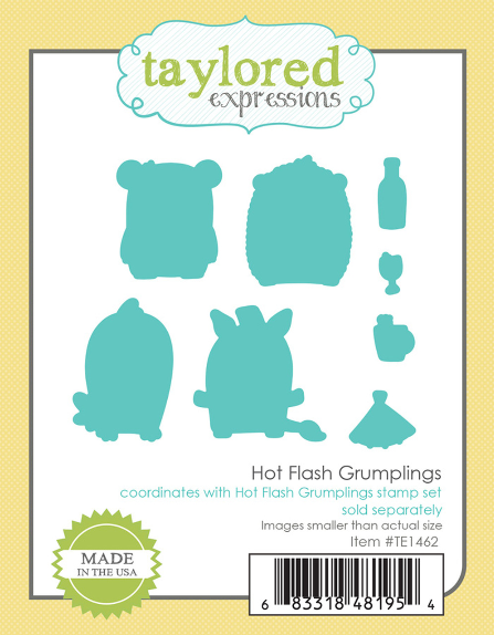 Taylored Expressions HOT FLASH GRUMPLINGS DIES