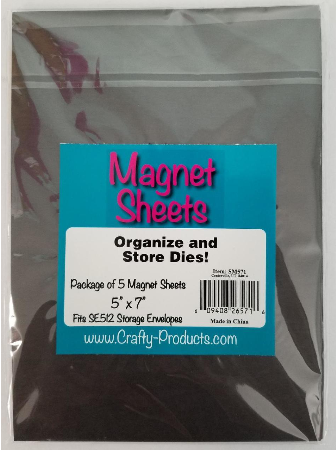 Magnet Sheets 5x7 5 pack Pick up Only