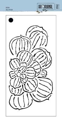 Elizabeth Craft Stencil Bloom