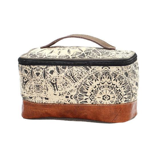 Myra Bags Flower Design Kit Bag