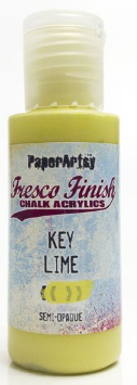 PaperArtsy key lime fresco finish paint