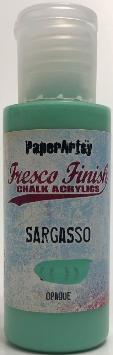 PaperArtsy sargasso fresco paint