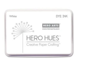 Hero Arts Hues Dye Ink White