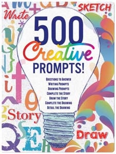 500 Creative Prompts Journal