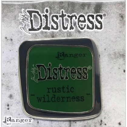 Tim Holtz Distress Enamel Collector Pin Rustic Wilderness