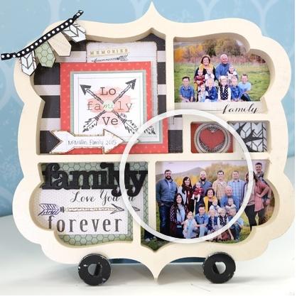 Mystery Monday Kit #39 Family Shadow Box Kit