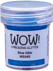 Wow Embossing Blue Glitz Embossing Glitter