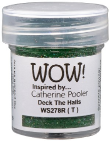 Wow Embossing Deck the Hall Embossing Glitter