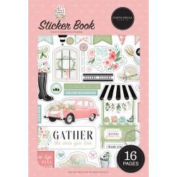 Carta Bella Sticker Book Flower Garden