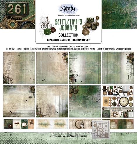 3Quarter Designs Gentleman's Journey Collection