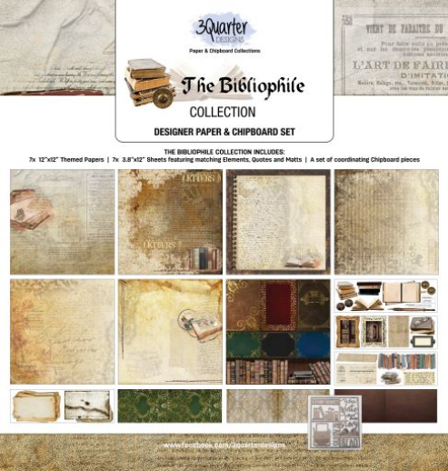 3Quarter Designs The Bibliophile Collection