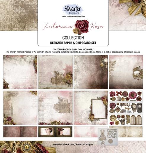 3Quarter Designs Victorian Rose Collection