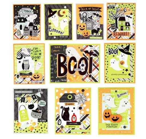 Mystery Monday #68 Spooky Nights Card Kit to Go
