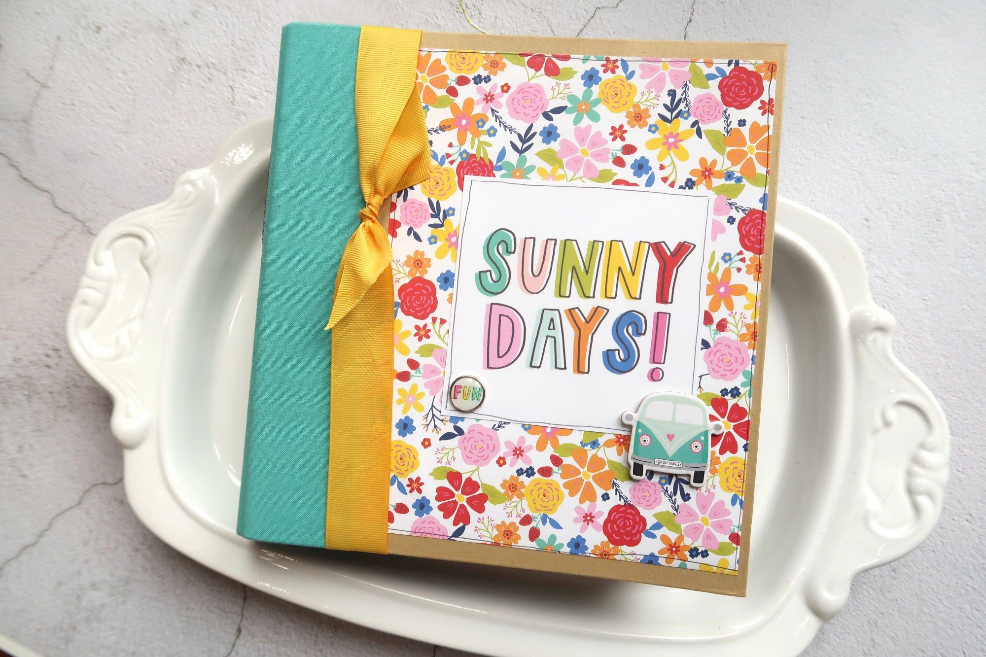 Mystery Monday Kit #54 Sunkissed Snap Binder Album