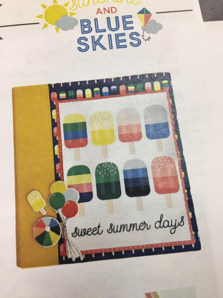 Simple Stories Sunshine Blue Skies album kit