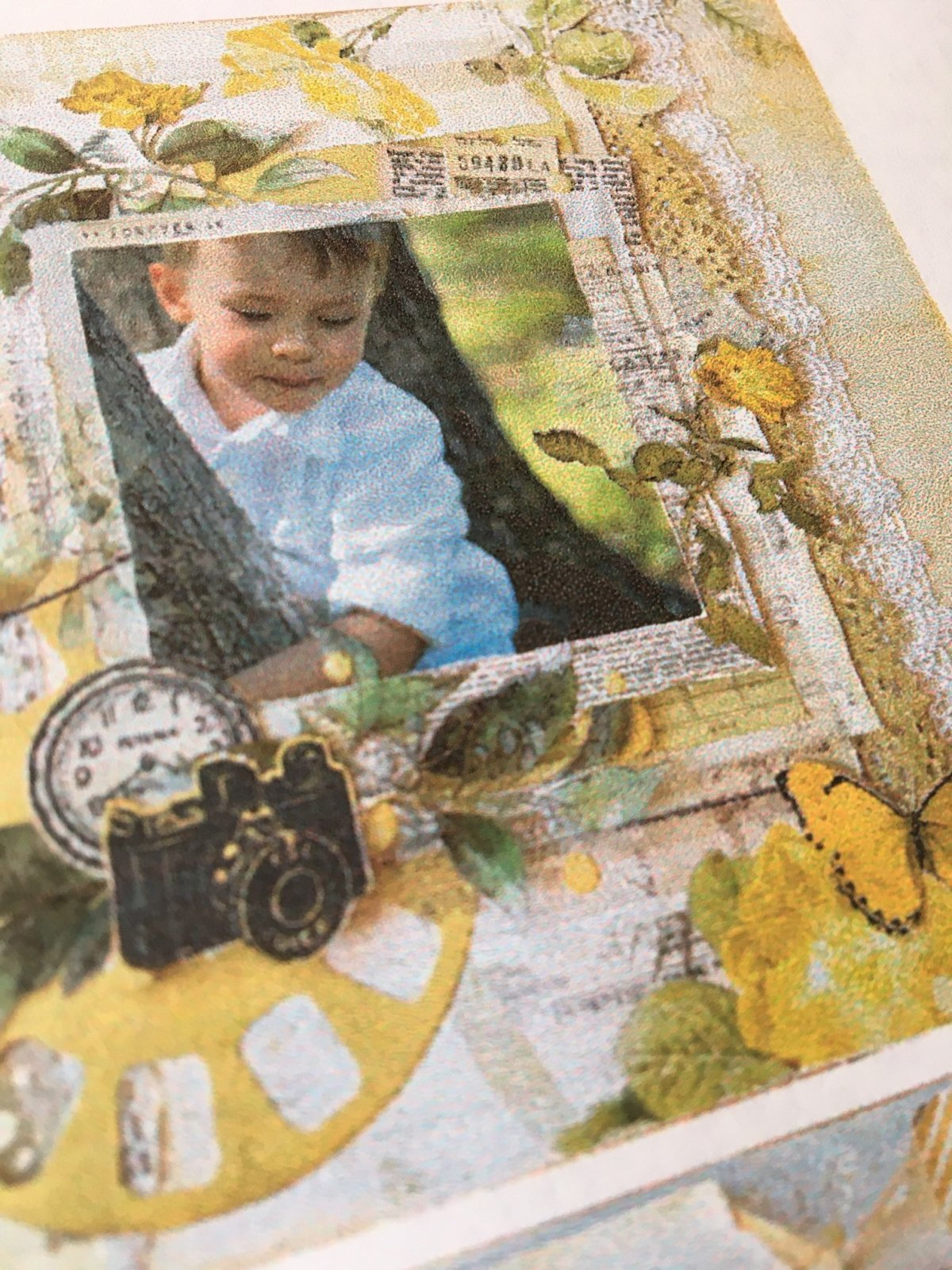 Mystery Monday #48 Kit Vintage Artistry Layouts