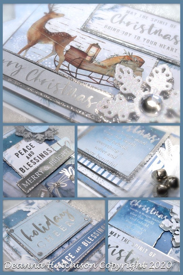 Wintery Wishes Virtual Card Class Kit taught by Deanna