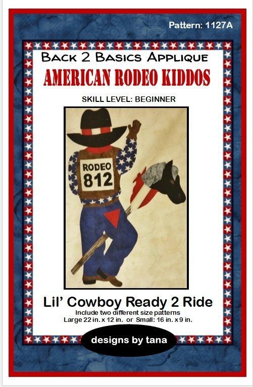 1127A  Lil' cowboy Ready 2 Ride Pattern Only