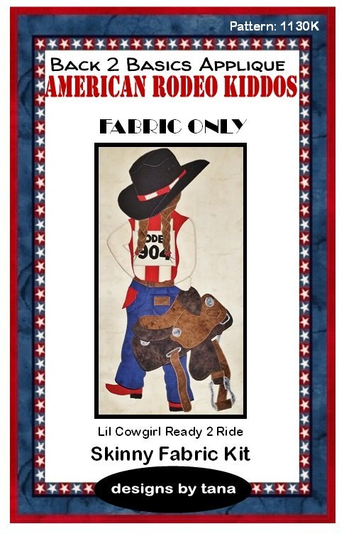 1130K Lil Cowgirl Ready 2 Ride Fabric Kit