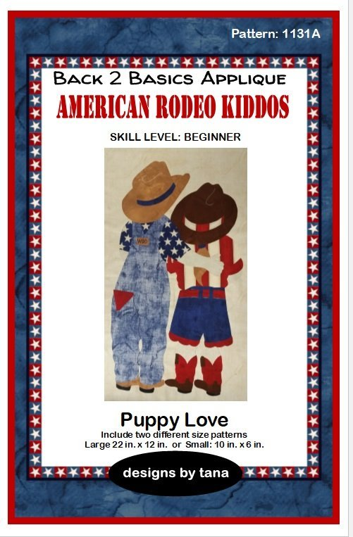 1131A  Puppy Love Pattern Only