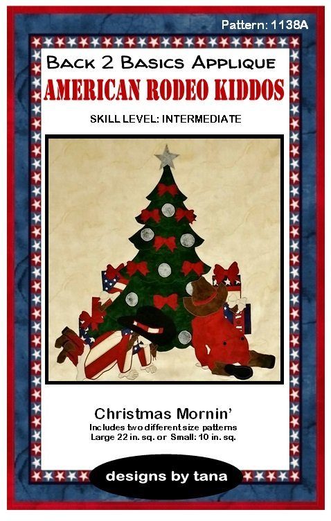 1138A  Christmas Mornin'  Pattern Only