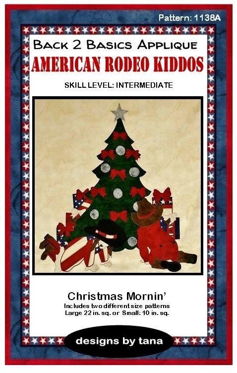 1138K  Christmas Mornin'  Fabric Kit Only