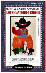 1145A Pumkin Patch Kiddo Pattern Only