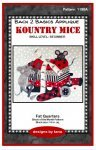 1190K Kountry Mice Fat Quarters Fabric Kit Only