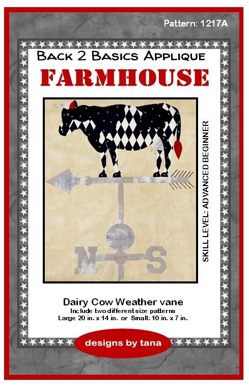 1217A Dairy Cow Weather Vane