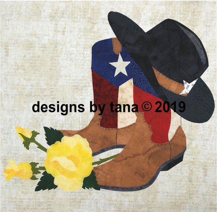 1282K  Fabric Kit for Yellow Rose Pattern