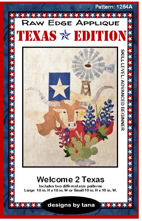 1284K Texas Edition BOM ~ Welcome 2 Texas
