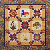 Deep in the Heart of Texas  pattern by Cheri Leffler