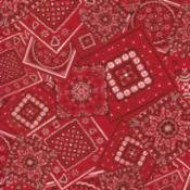 Red Bandana fabric Moda  15490 40