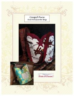 Cowgirl Purse & FQ Bag by Seams and Dreams