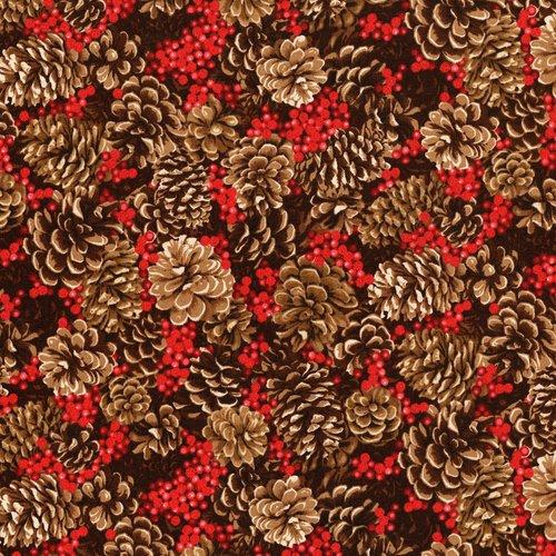 3153 1 Merry Berry Bright  PINE CONES APLENTY-RADIENT BERRY