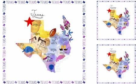 51345P-X    Multi Texas Panel