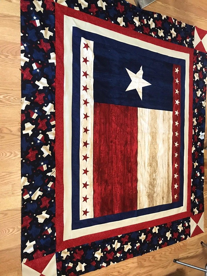Texas Flag Lap Quilt Kit