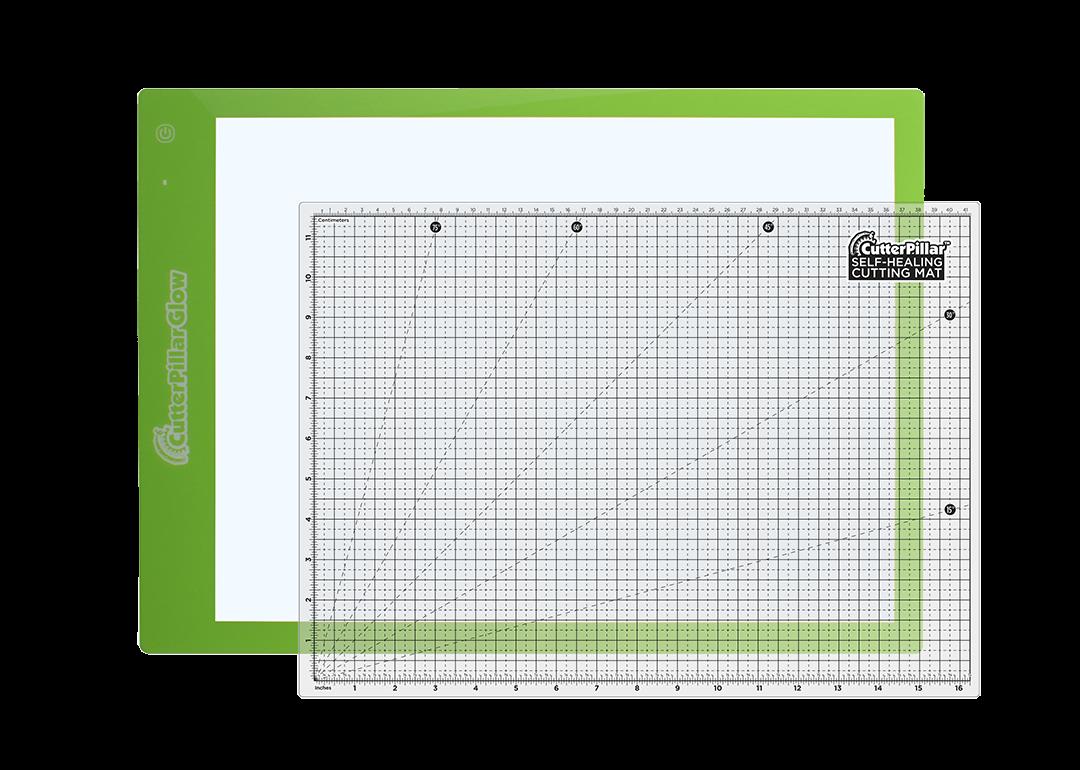 Cutterpillar Glow Premium   Lighted area approx 12 x 16  Board approx 13 x 18