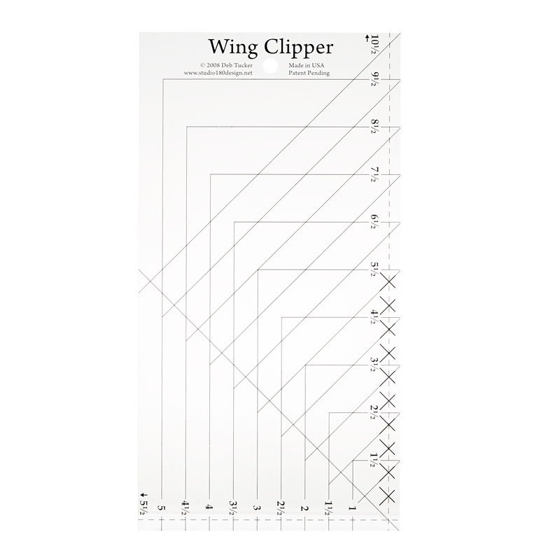 Wing Clipper Ruler by Studio 180