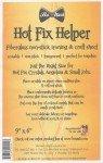 B01006  Hot Fix Helper Clear Protective Sheet 9in x 6in