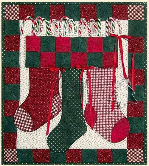Christmas Candy Wall Quilt Pattern