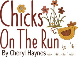 Chicks on the Run Charm Pack