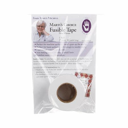 Batting Tape Fusible Non Woven 2in x 30yds