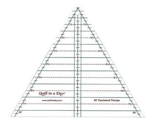 2046 60 Equilateral 8 1/2 Triangle