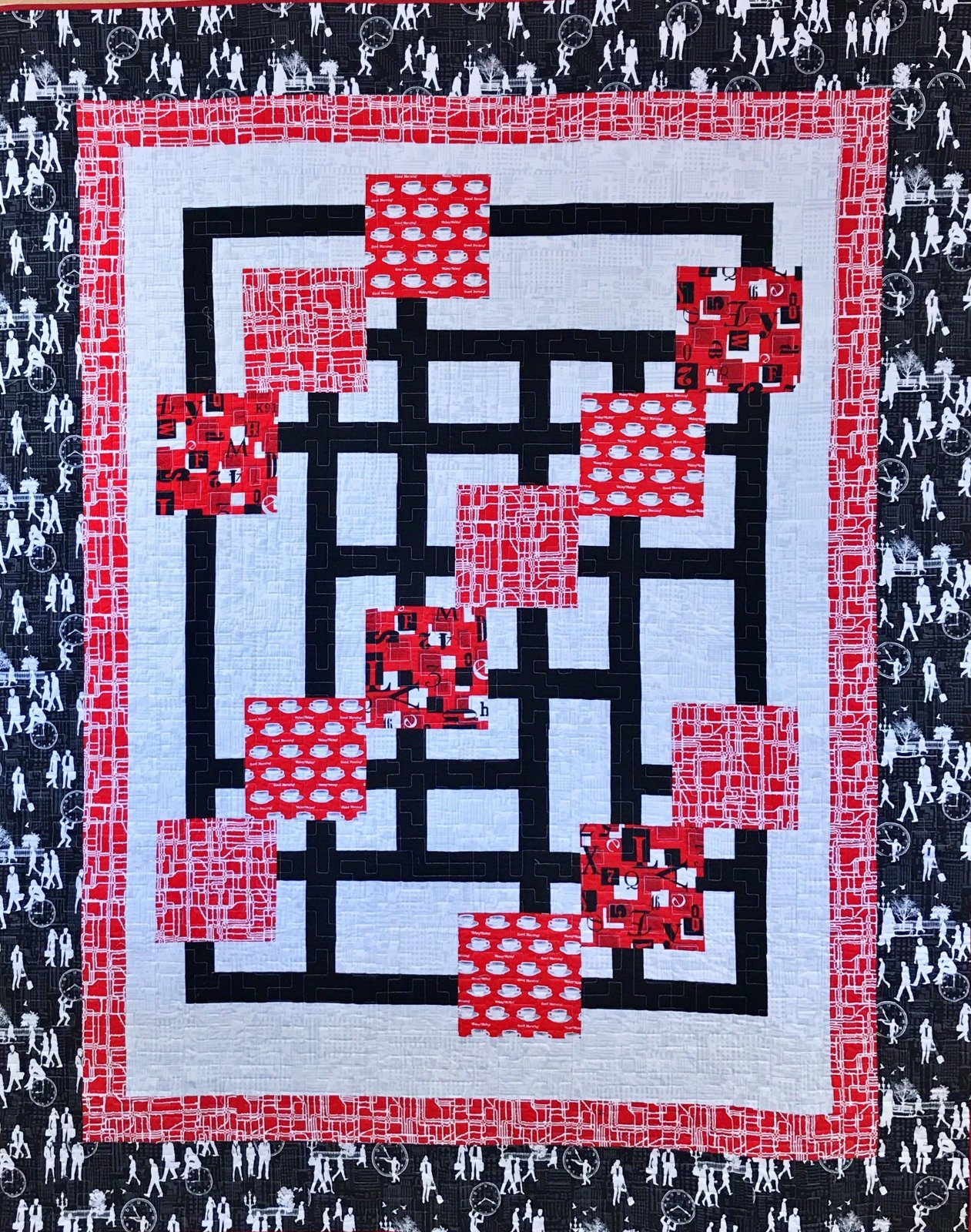 Traffic Jam  by Quilting Queen