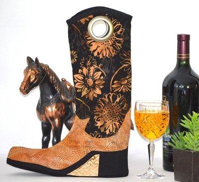Wine Boot Holder