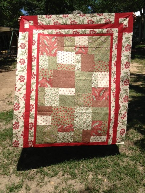 Sweet Sixteen Quilt Kit  Pattern included  Fabric for Top, Border and Binding pattern by Black Cat Creations  Lap Size